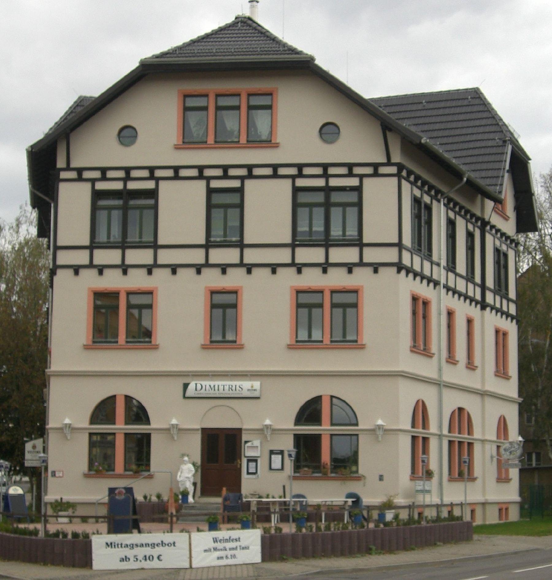 Forsthaus Knautkleeberg Ferienwohnung in Sachsen