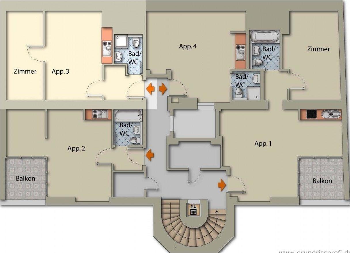 Appartement de vacances Appartements Ferchergasse Ap3 (1854297), Vienne, , Vienne, Autriche, image 23