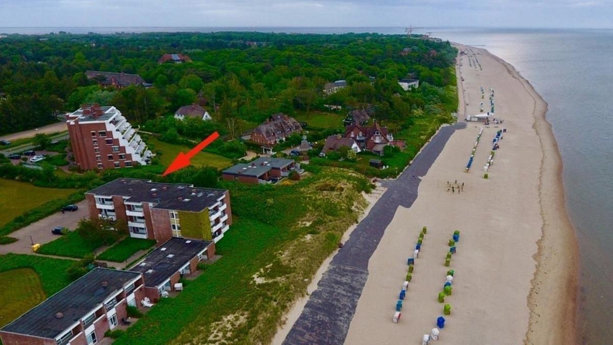 Helle Strandwohnung