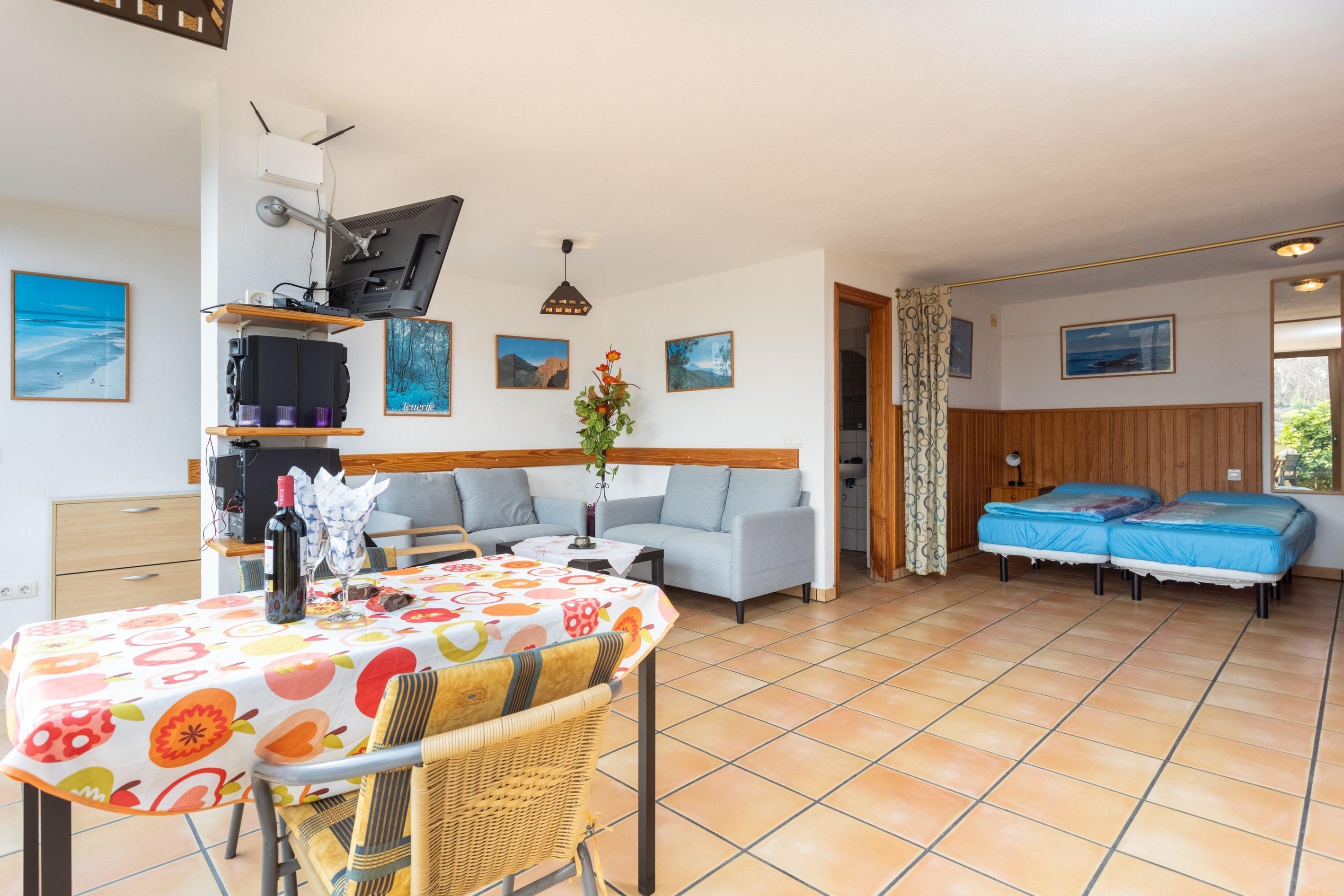 Appartement de vacances Fewo Rocamar, auf dem Felsen über dem Meer mit toller Sicht, 2 Terrassen, Pool, Grill und  (2492985), Santa Ursula, Ténérife, Iles Canaries, Espagne, image 6