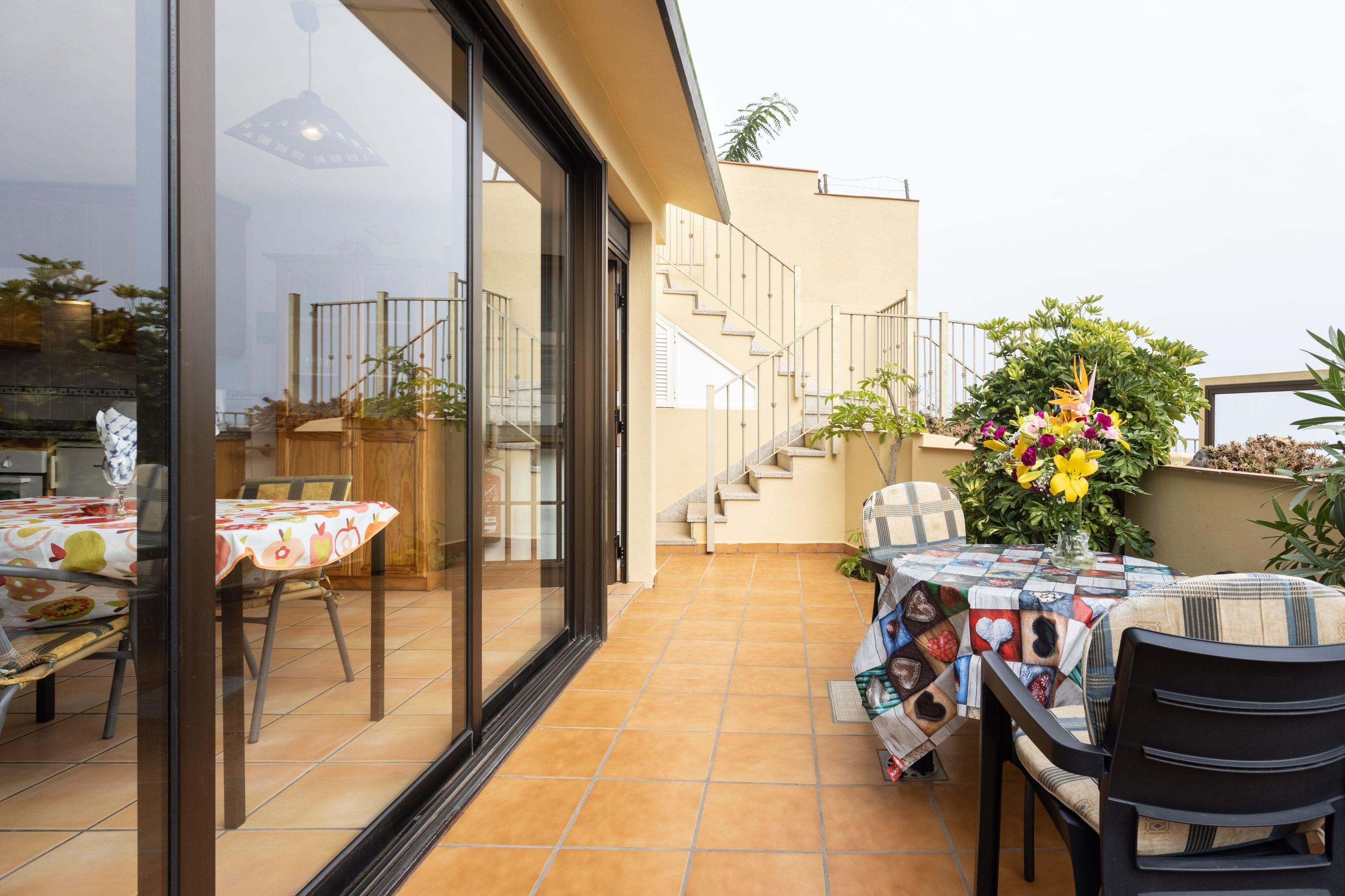 Appartement de vacances Fewo Rocamar, auf dem Felsen über dem Meer mit toller Sicht, 2 Terrassen, Pool, Grill und  (2492985), Santa Ursula, Ténérife, Iles Canaries, Espagne, image 13