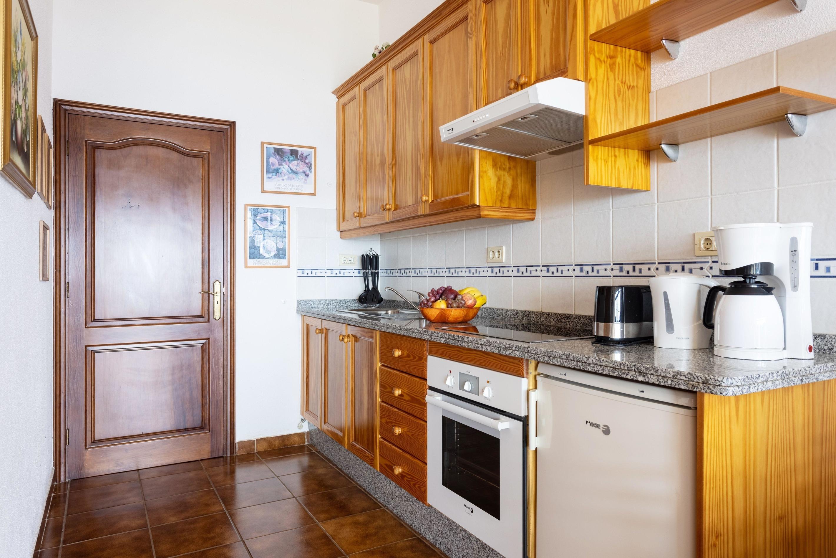 Appartement de vacances Fewo Solymar, mit 2 Schlafzimmern, 2 Bädern, eigener Terrasse und Garten, Meerblick, Pool, (2492986), Santa Ursula, Ténérife, Iles Canaries, Espagne, image 6