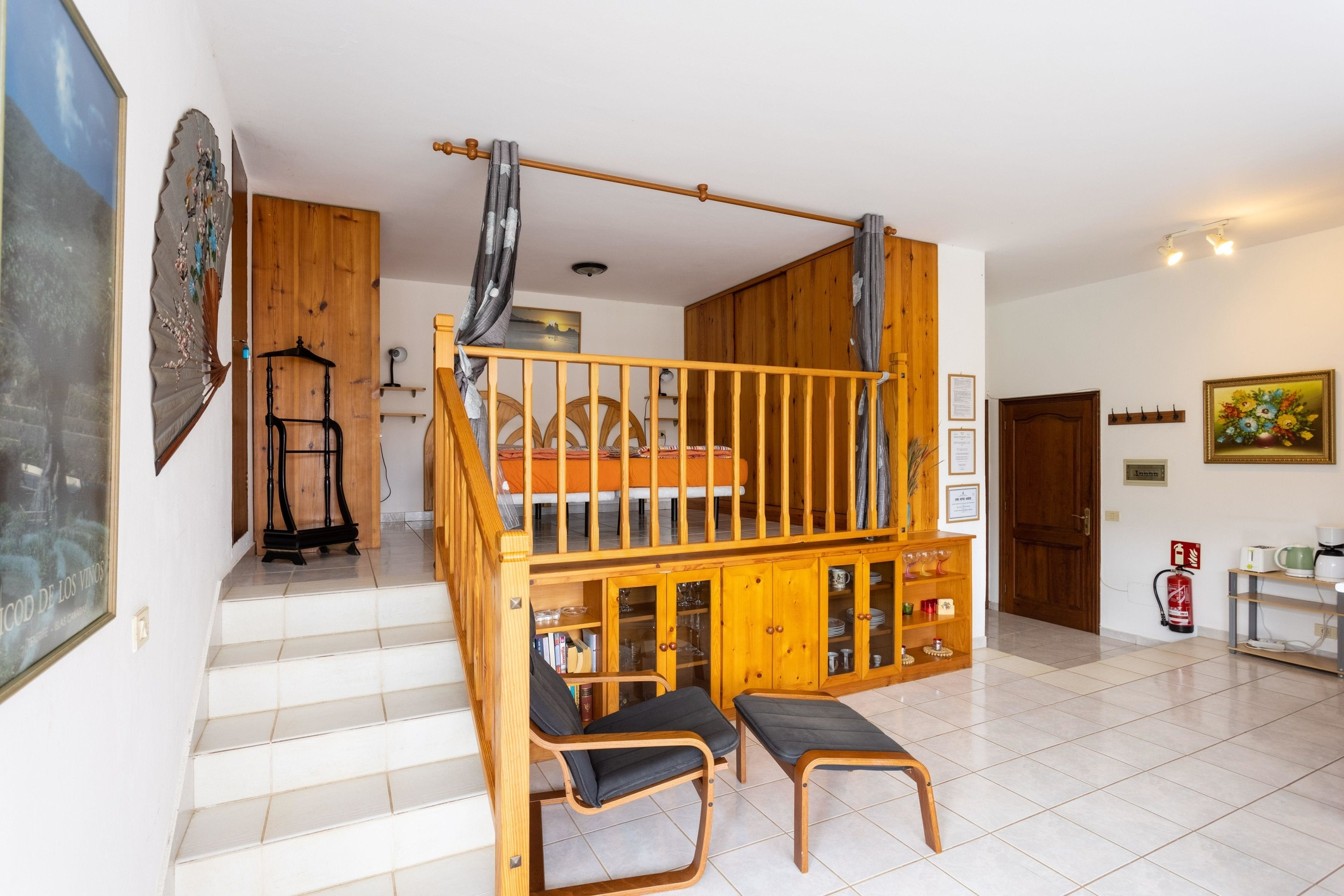 Appartement de vacances Fewo Strelitzia, im Grünen, am kleinen See, direkt am Strelitziengarten, mit Pool, Grill,  (2492987), Santa Ursula, Ténérife, Iles Canaries, Espagne, image 9