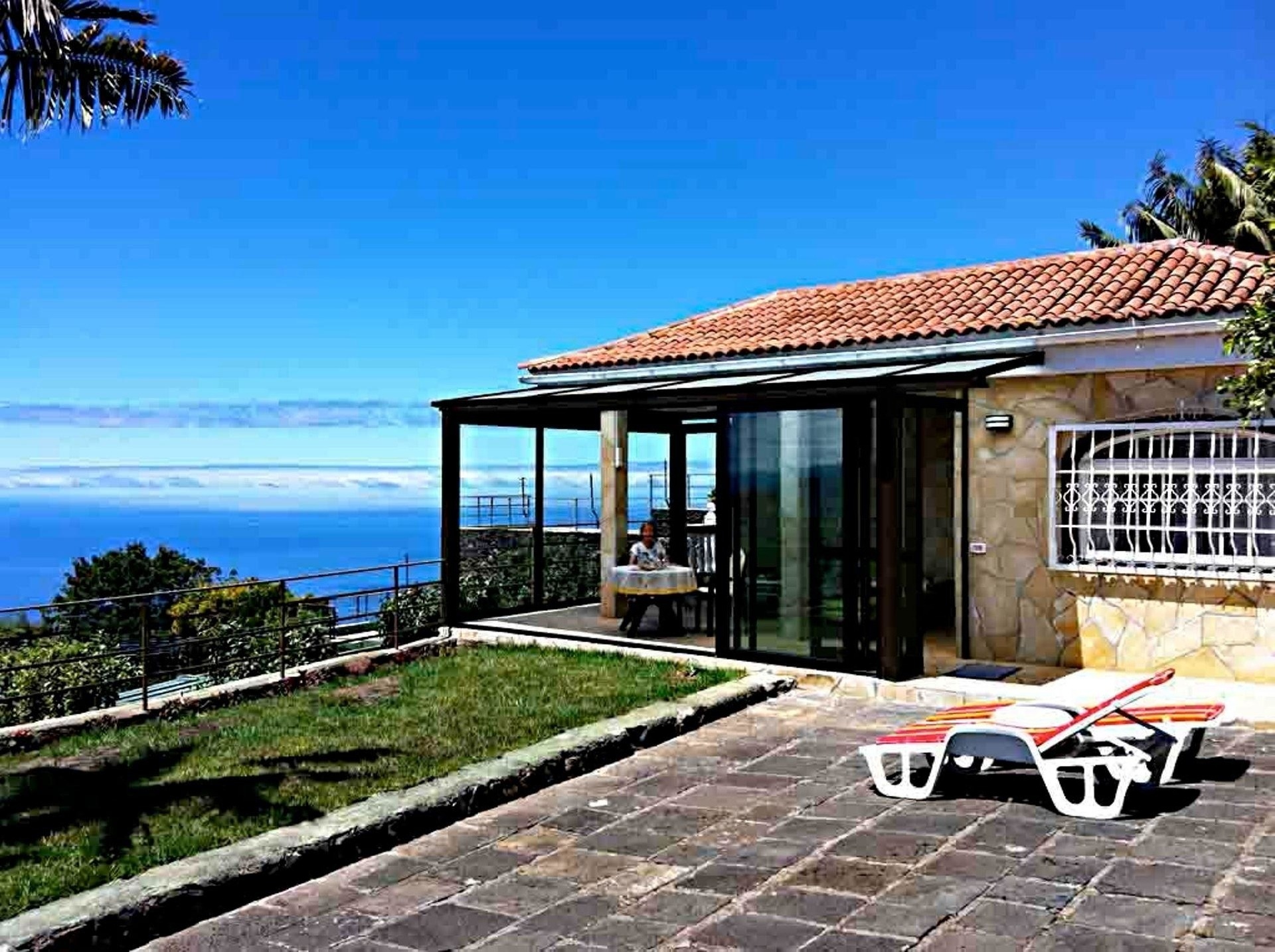 Maison de vacances Finca Panoramica Teidemar, 3 Schlafzimmer/Bäder, tolle Fernsicht, Gärten, Pool, Grill und  (2492991), Santa Ursula, Ténérife, Iles Canaries, Espagne, image 1