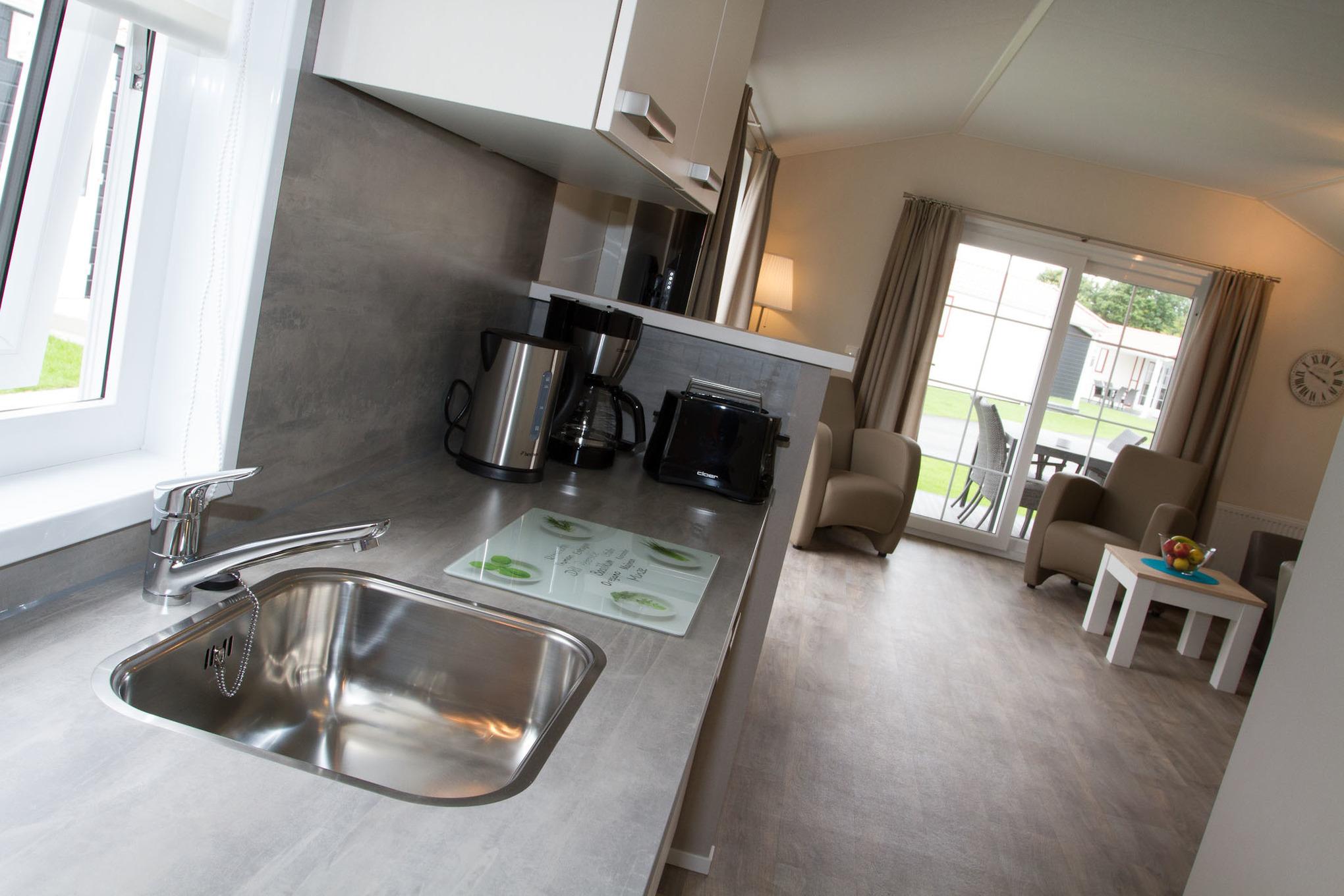 Chalet bis 5 Personen rollstuhlgerecht für Hu Ferienhaus in Ostfriesland