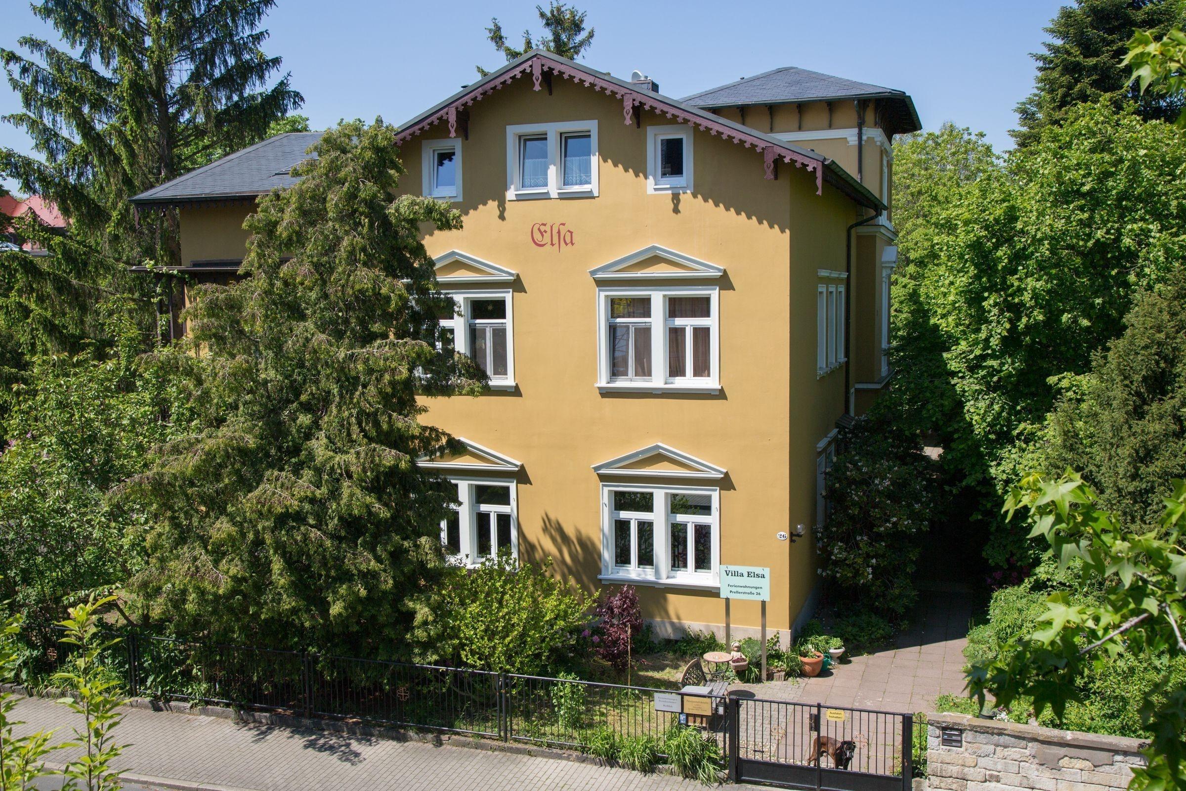 Apartment der Villa Elsa Ferienwohnung in Sachsen