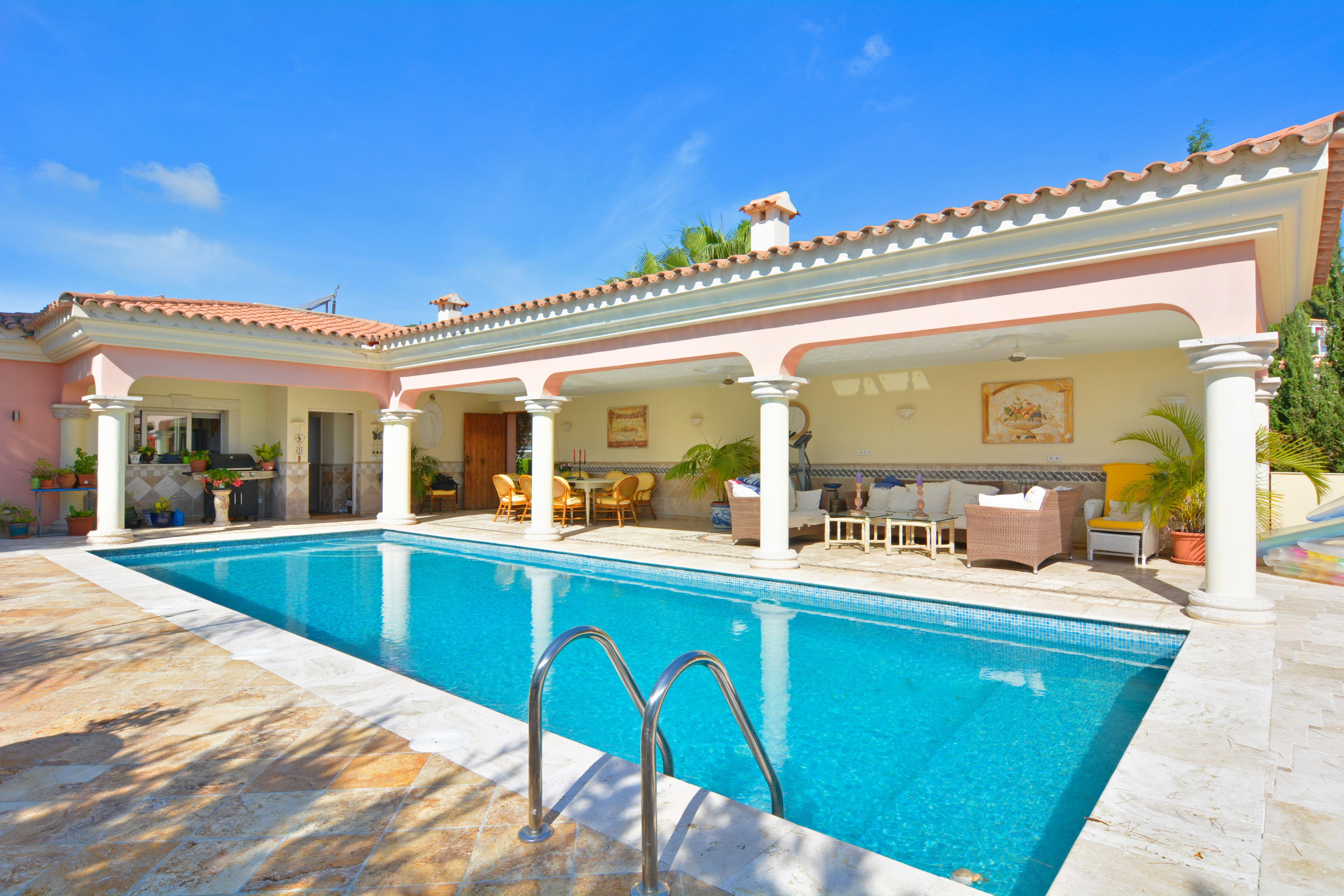 Luxury Villa next Portals Nous with Pool
