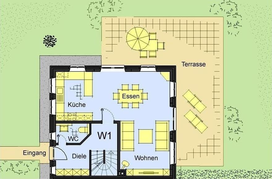 Ferienwohnung Haus Seefahrer 1 - 303012 (2656500), Borgsum, Föhr, Schleswig-Holstein, Deutschland, Bild 17