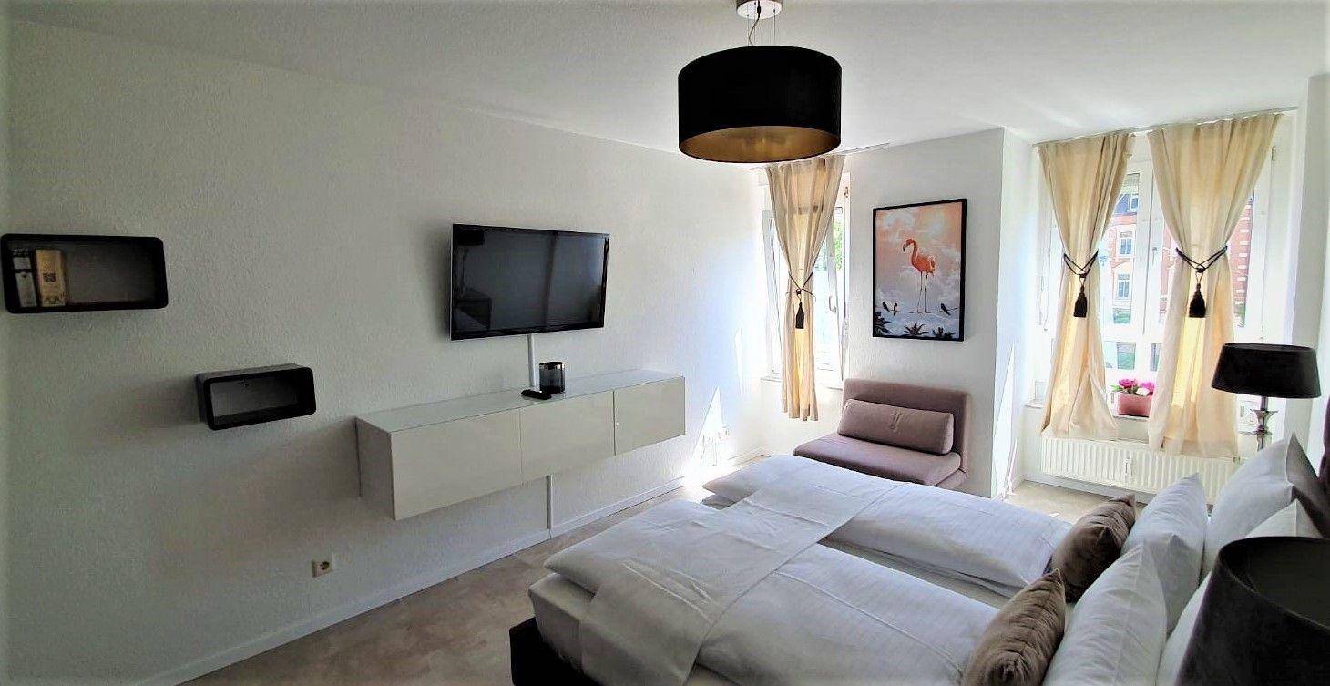 Ferienwohnung Deluxe Apartment Flamingo in Paradise (2793513), Freiburg, Schwarzwald, Baden-Württemberg, Deutschland, Bild 4